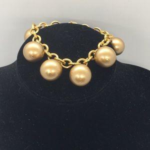 Carolee Brown pearl bracelet